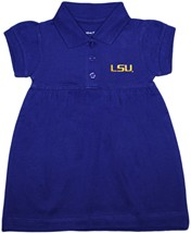LSU Tigers Script Polo Dress
