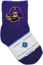 East Carolina Pirates Baby Bootie