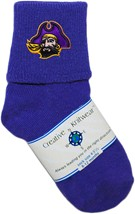 East Carolina Pirates Anklet Socks