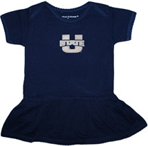 Utah State Aggies Picot Bodysuit Dress