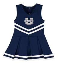 Utah State Aggies Cheerleader Bodysuit Dress