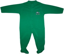Notre Dame Fighting Irish Footed Romper