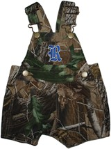 Rice Owls Realtree Camo Short Leg Overall