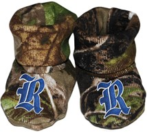 Rice Owls Realtree Camo Baby Bootie