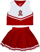 Official South Dakota Coyotes SD Paw 2-Piece Cheerleader Dress