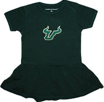 South Florida Bulls Picot Bodysuit Dress