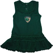 South Florida Bulls Shield Ruffled Tank Top Dress