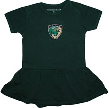 South Florida Bulls Shield Picot Bodysuit Dress