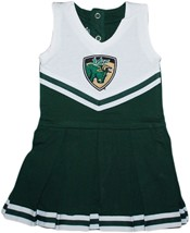 South Florida Bulls Shield Cheerleader Bodysuit Dress