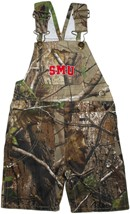 SMU Mustangs Word Mark Realtree Camo Long Leg Overall