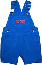 SMU Mustangs Word Mark Short Leg Overalls