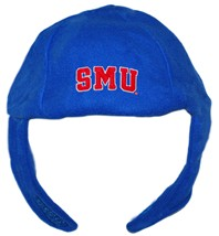 SMU Mustangs Word Mark Chin Strap Beanie