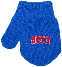 SMU Mustangs Word Mark Acrylic/Spandex Mitten