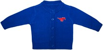 SMU Mustangs Cardigan Sweater