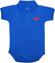 SMU Mustangs Polo Bodysuit