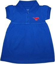 SMU Mustangs Polo Dress w/Bloomer