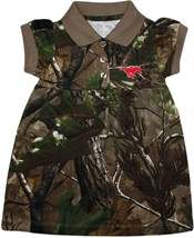 SMU Mustangs Realtree Camo Polo Dress