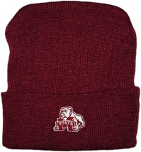 Mississippi State Bulldog Mark Newborn Baby Knit Cap