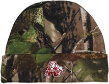 Mississippi State Bulldog Mark Newborn Realtree Camo Knit Cap