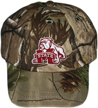 Mississippi State Bulldog Mark Realtree Camo Baseball Cap