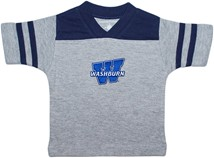"Washburn Ichabods ""W"" Mark Football Shirt"