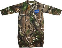 "Washburn Ichabods ""W"" Mark Realtree Camo ""Convertible"" Gown (Snaps into Romper)"