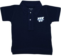 "Washburn Ichabods ""W"" Mark Infant Toddler Polo Shirt"