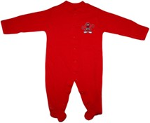 Western Kentucky Big Red Footed Romper