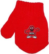 Western Kentucky Big Red Acrylic/Spandex Mitten