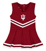 Indiana Hoosiers Cheerleader Bodysuit Dress
