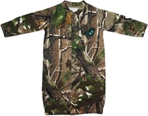 "Castleton State College Spartans Realtree Camo ""Convertible"" Gown (Snaps into Ro"