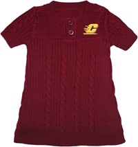 Central Michigan Chippewas Sweater Dress
