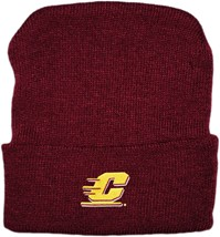 Central Michigan Chippewas Newborn Baby Knit Cap