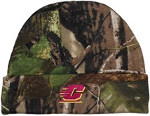 Central Michigan Chippewas Newborn Realtree Camo Knit Cap