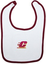 Central Michigan Chippewas Newborn Bib