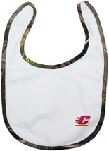 Central Michigan Chippewas Realtree Camo Newborn Bib