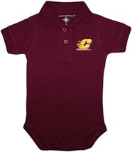 Central Michigan Chippewas Polo Bodysuit