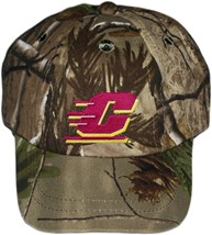 Central Michigan Chippewas Realtree Camo Baseball Cap