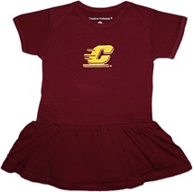 Central Michigan Chippewas Picot Bodysuit Dress