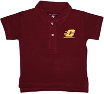 Central Michigan Chippewas Infant Toddler Polo Shirt