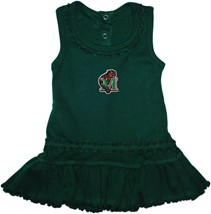 Minot State Beavers Ruffled Tank Top Dress