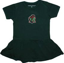 Minot State Beavers Picot Bodysuit Dress