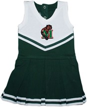 Minot State Beavers Cheerleader Bodysuit Dress
