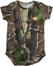 North Alabama Lions Realtree Camo Newborn Infant Bodysuit