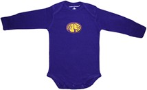 North Alabama Lions Long Sleeve Bodysuit