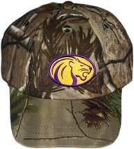 North Alabama Lions Realtree Camo Baseball Cap