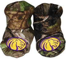 North Alabama Lions Realtree Camo Baby Bootie