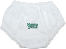 North Texas Mean Green Baby Eyelet Panty