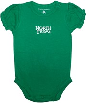 North Texas Mean Green Puff Sleeve Bodysuit