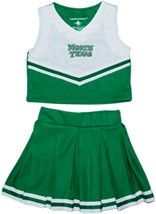 Official North Texas Mean Green 2-Piece Cheerleader Dress